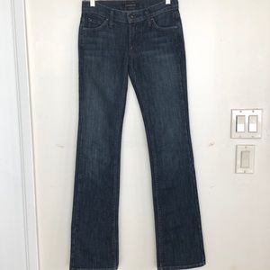James Jeans Straight Leg made in USA Size 25